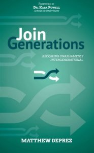 Excellent resource for building relationships between generations in your church