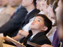 Image result for kid bored at church